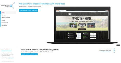 design lab website finally a brand spankin new website procreative labs