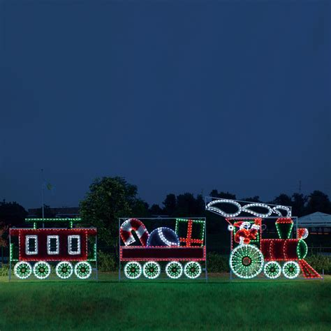 philips led lighted train engine outdoor lighted decoration www indiepedia org
