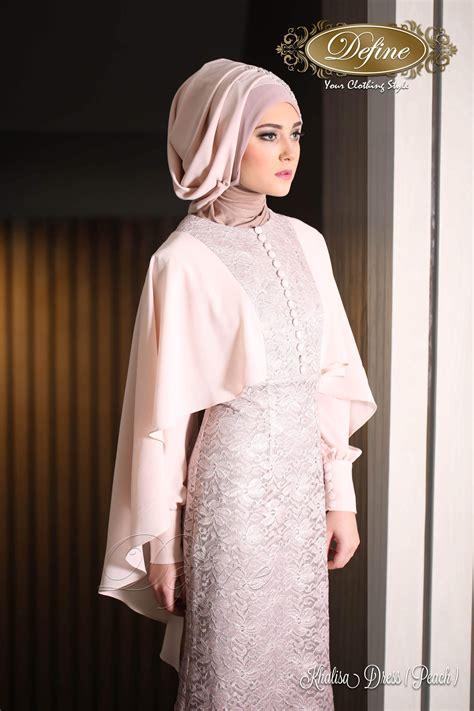 Baju Muslim Gamis Bigsize Hitam Abaya Modern khalisa dress gamis pesta mewah yang elegan nan syar i