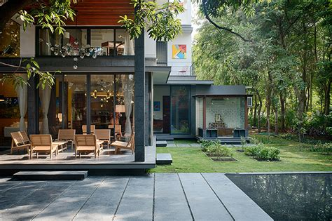 design home bhopal ujjval panchal kinny soni design mango tree house in india