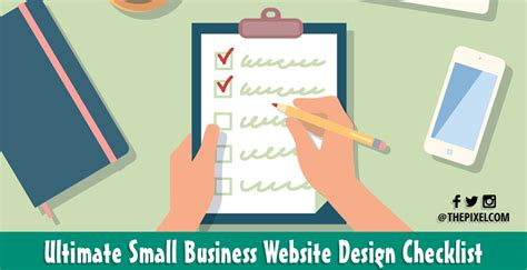 Small Home Business Website Thepixel The Ultimate Small Business Website Design