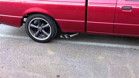 2000 ford ranger exhaust ford ranger 3 0 exhaust flowmaster gutted cats