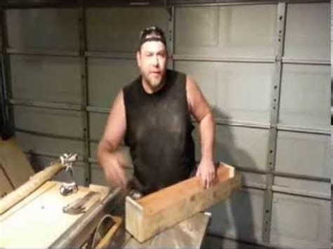 how to taper 4x4 table legs simple jig easy way to cut tapered legs concept