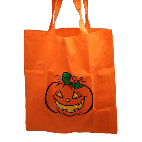 treat bag pumpkin trick or treat bag