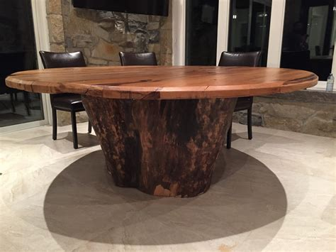 Plank Top Dining Table Live Edge Designs By Plank To Table Design Inc