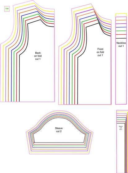 lining t shirt pattern free sewing pattern t shirt for kids free pattern