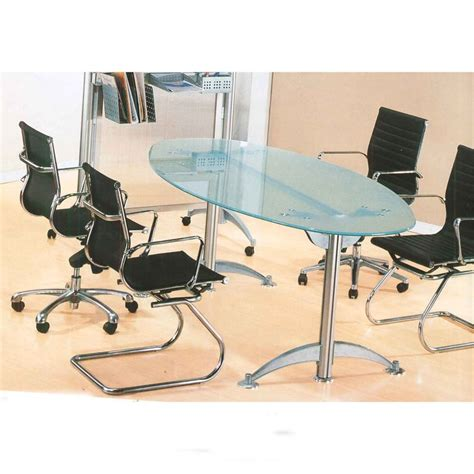 ofm tempered glass conference table stainless steel 24 best images about conference table and chairs on