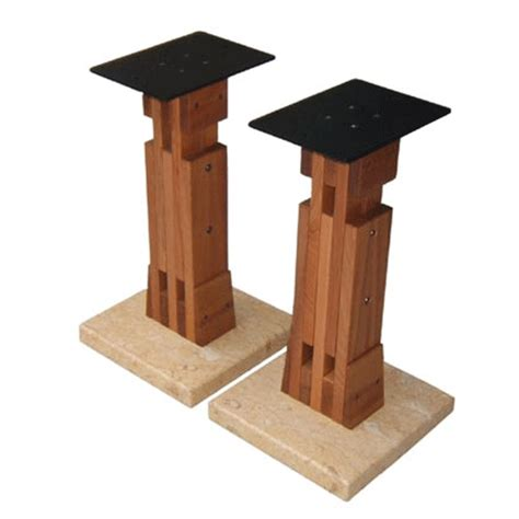 Ushers One Stand by Usher Rws 729 Speaker Stand In A Beech Finish With Free