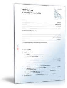 Muster Kündigung Mietvertrag Durch Den Vermieter Mietvertrag Garage Rechtssicheres Muster Zum