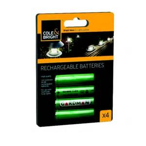 aaa solar light batteries aaa ni mh rechargeable batteries for solar lights 4 pack