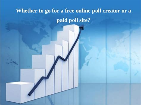 powerpoint templates free statistics which is the best a free online poll creator or a paid
