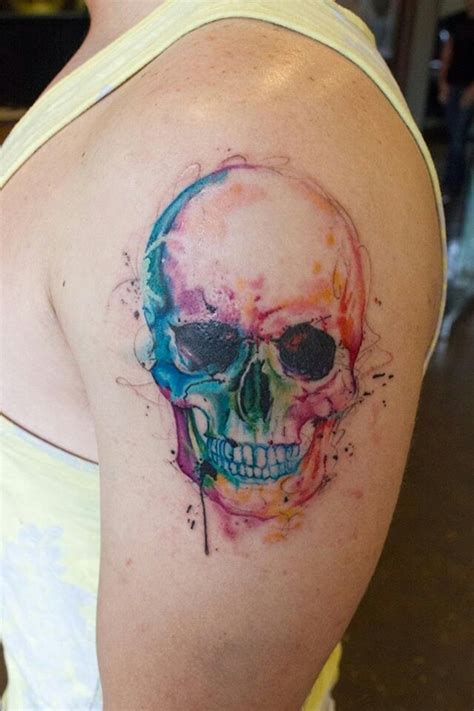 multiple skull tattoo designs 100 glowing color designs to ink