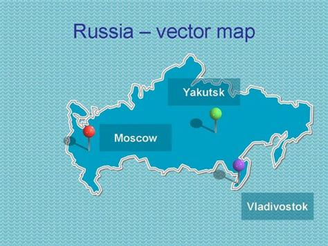 powerpoint templates russia powerpoint map of russia