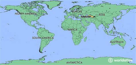 uzbekistan world map where is uzbekistan where is uzbekistan located in the