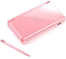 Nintendo Ds Lite Pink by Adore Le Pug