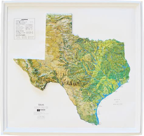 relief map of texas buy texas relief map flagline