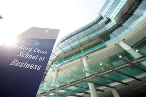 Asia E Mba by Smu Kong Chian School Of Business Debuts In Financial