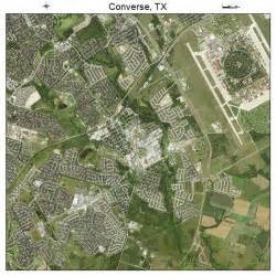 aerial photography map of converse tx