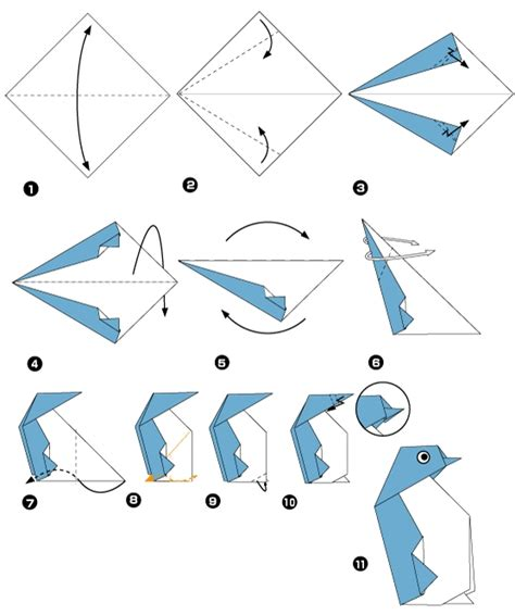 Penguin Origami - origami of penguin