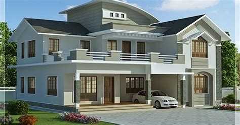 2960 sq ft 4 bedroom indian house design front view 2960 sq feet 4 bedroom villa design kerala home design