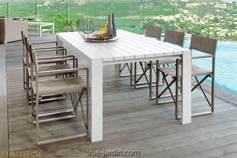 table blanche jardin grande table de jardin blanche jsscene des id 233 es int 233 ressantes pour la conception de des