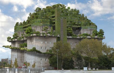 Plants For The House by Hamburg Wwii Bunker To Become A Green Mountain
