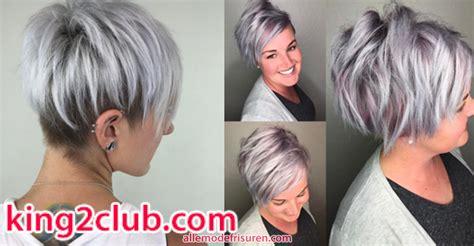 die besten farben fuer kurze haare  trend kurze frisuren