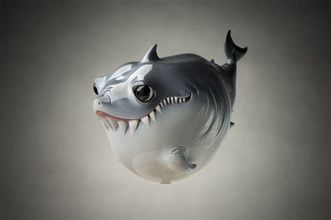baby shark original video second series baby shark standing option by katyushka art