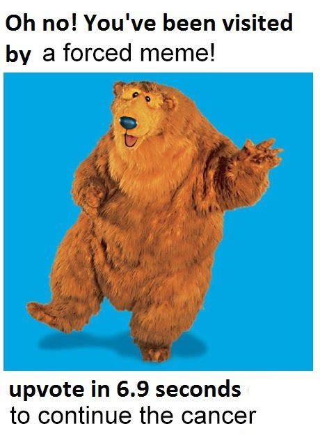 the bear inthe big blue house the great meme war bear in the big blue house know your meme