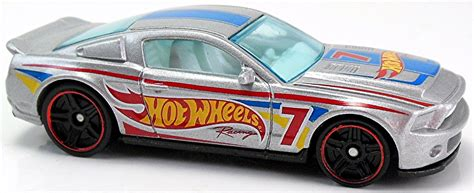 Hotwheels 10 Ford Shelby Gt500 White 2015 2017 american racing circuit wheels newsletter