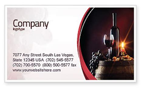 beverage company business card template wine bottle business card template layout wine