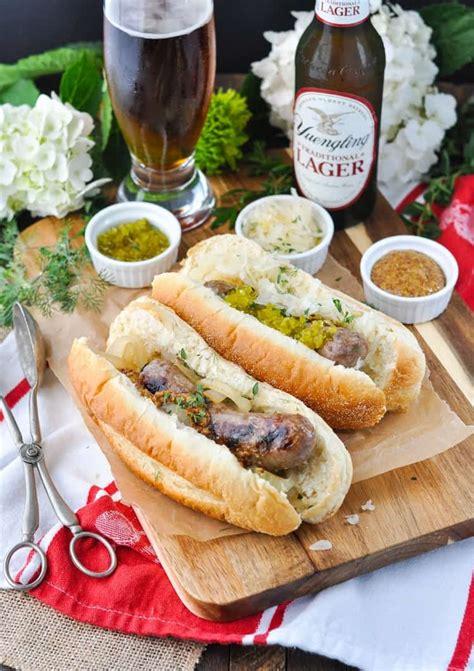 bratwurst ingredients 3 ingredient grilled beer brats a video the seasoned mom