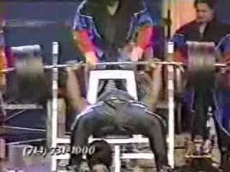 james henderson bench drug tested bench press world record holder african