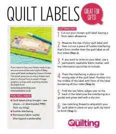 Quilt Label Templates by Free Quilt Labels Printable Patchwork Quilting