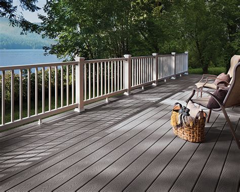 northville lumber trex decking railing color options