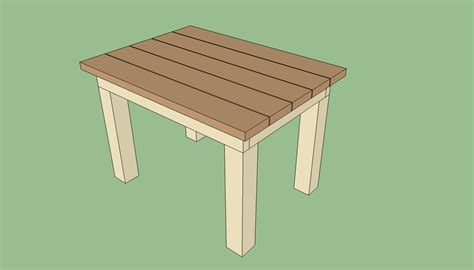 how to build wood outdoor table pdf woodworking