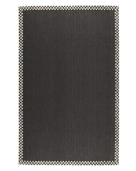 black sisal rug mackenzie childs courtly check black sisal rug