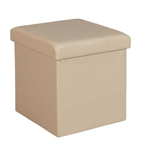 beige leather ottoman kia leather touch single ottoman decofurn factory shop