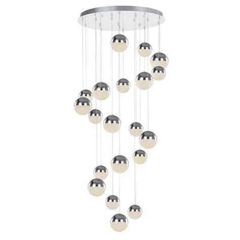 spiral pendant ceiling light corona 20 light spiral cluster ceiling pendant chrome