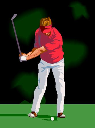 how do you swing a golf club physics of a golf swing