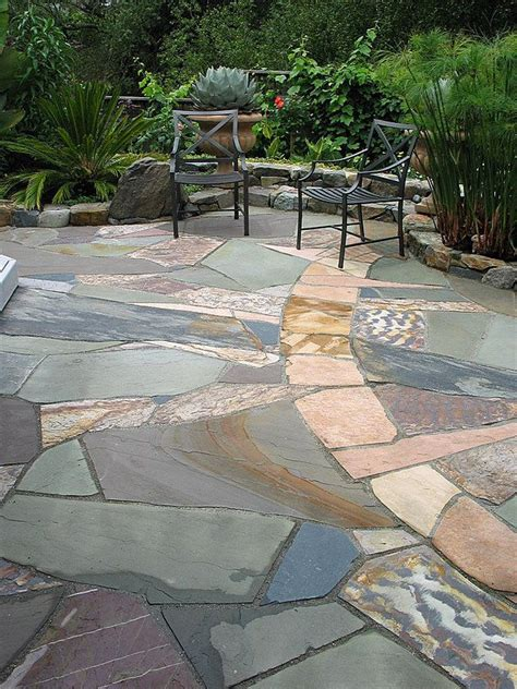 1000 ideas about stone patios on pinterest patio flagstone patio and brick patios