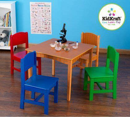 kidkraft nantucket table and chairs set primary colors kidkraft nantucket table and 4 chair set beautiful honey