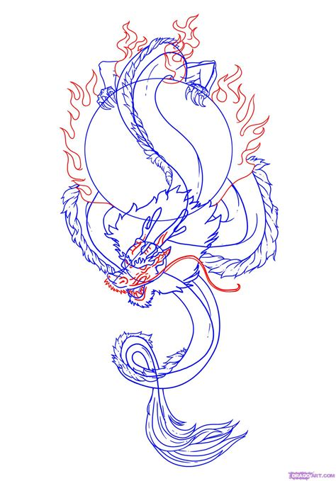 learn how to draw a dragon tattoo tattoos step by step how to draw a chinese dragon tattoo step by step tattoos
