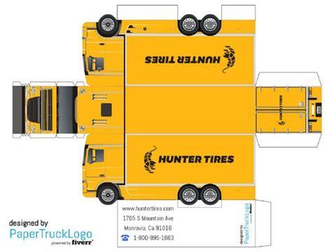 Papercraft Truck - paper model semi truck will make a papercraft truck with