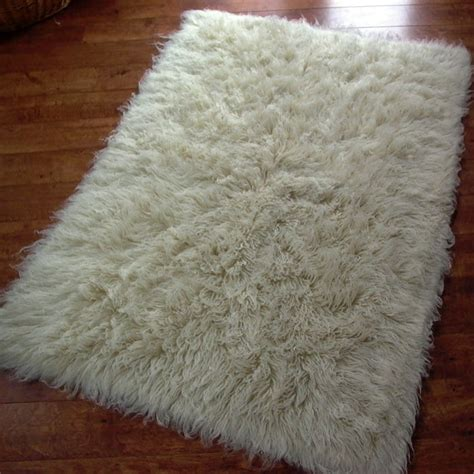 fuzzy rugs flokati rug 140 x 200cm 1400 grms thickness
