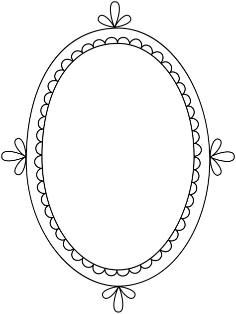 frame pattern clipart free clip art brushes digital frames with scalloped
