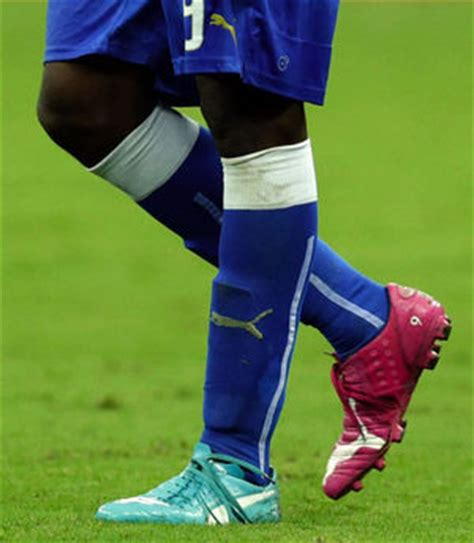 Overall Balotely Blue Pink On World Cup Pitch Cleats Compete The Seattle Times