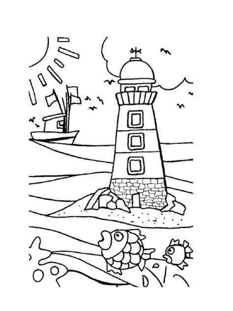 Coloriage mer : des dessins à imprimer