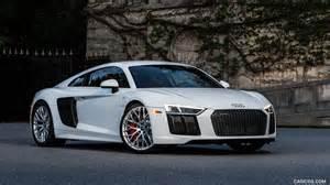 Audi R8 V10 Plus White 2017 Audi R8 V10 White Us Spec Front Hd Wallpaper 9