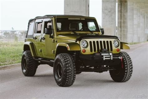 build jeep wrangler unlimited wrangler unlimited jk outstanding rescue green
